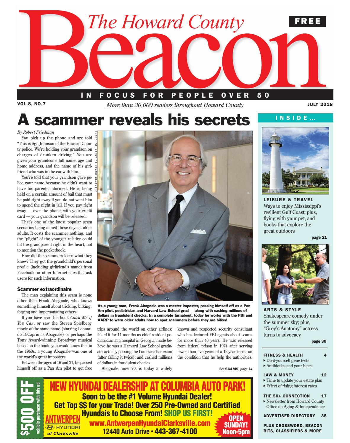 July 2018 Howard County Beacon By The Newspapers Issuu O2 Sensors Fyi Eastern Manufacturing