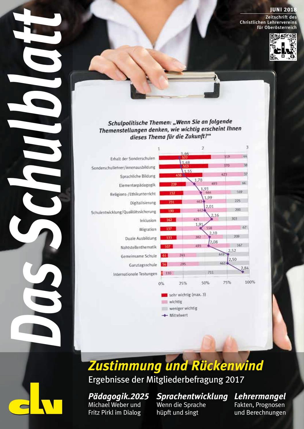 Schulblatt Juni 2018 by Dietmar Stütz - issuu