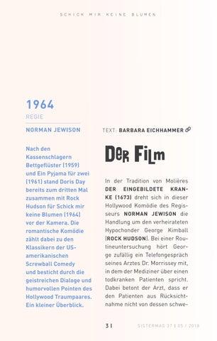 Page 31 of Filmvorstellung »Schick mir keine Blumen«