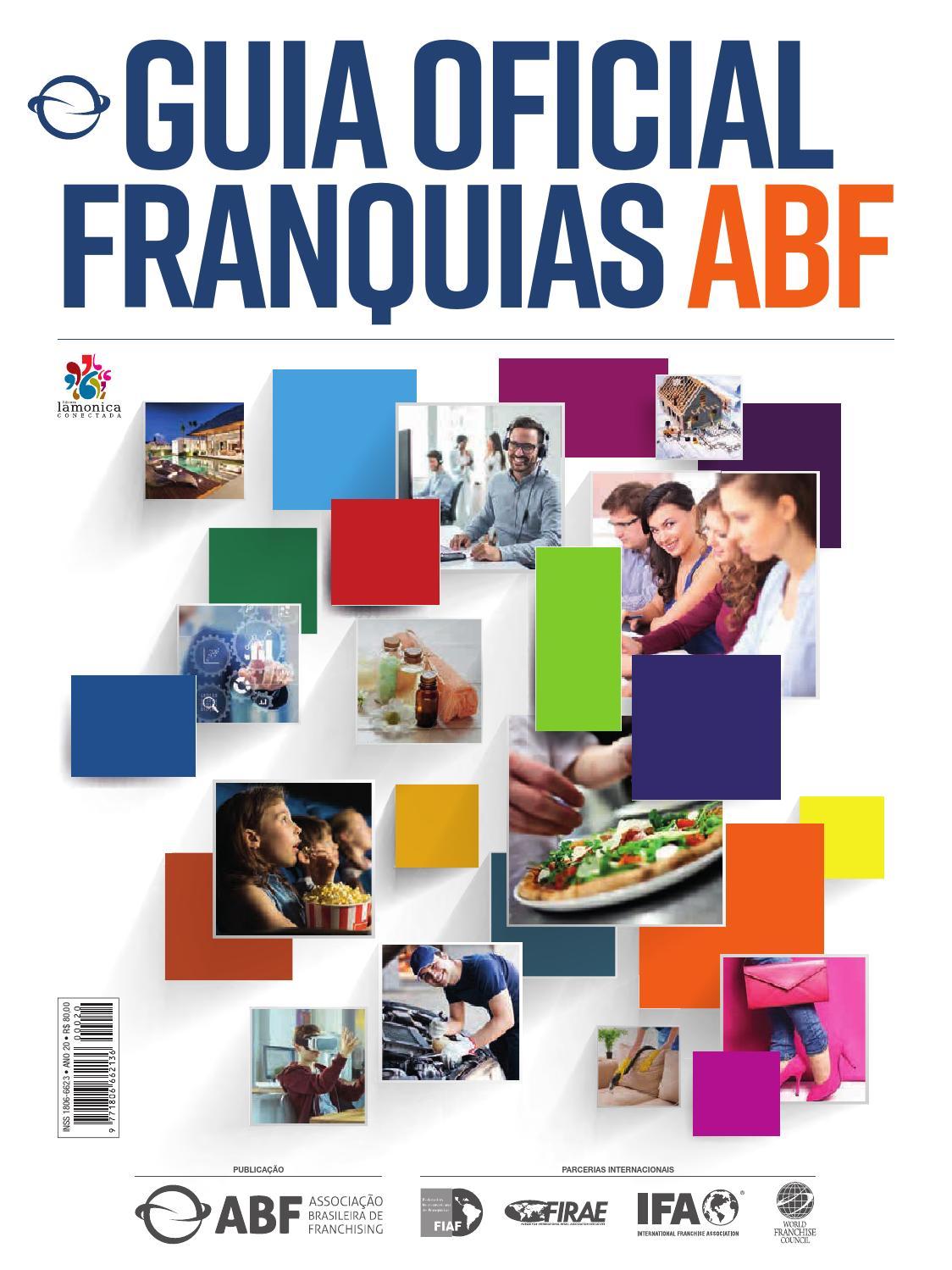 ba06056673a Guia Oficial de Franquias ABF 2018 by Editora Lamonica Conectada - issuu
