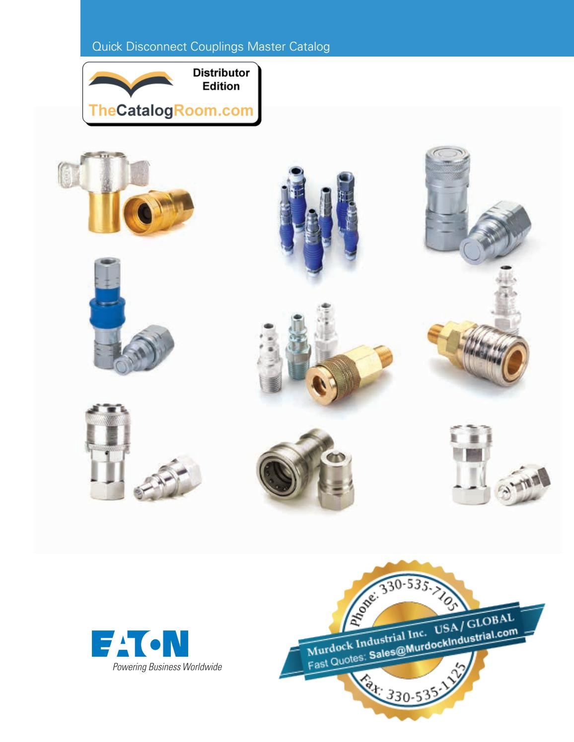 Eaton Hansen 5110-10B Brass Thread-to-Connect Hydraulic Fitting with Flange Valve 1//2-14 NPT Female Coupler 5//8 Body 1//2-14 NPT Female 1//2 Port Size 5//8 Body 1//2 Port Size
