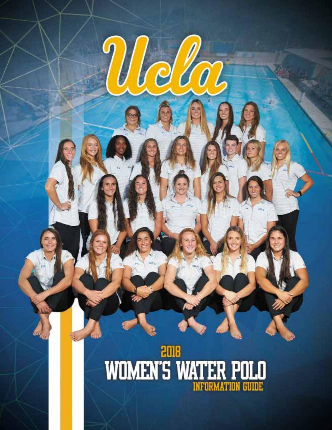 f6a8fdc18c0 2018 UCLA Women s Water Polo Information Guide by UCLA Athletics - issuu