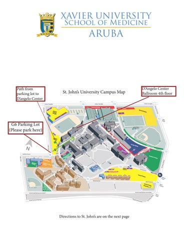 St Johns Campus Map.Queens Campus Map By Xavier University School Of Medicine Issuu