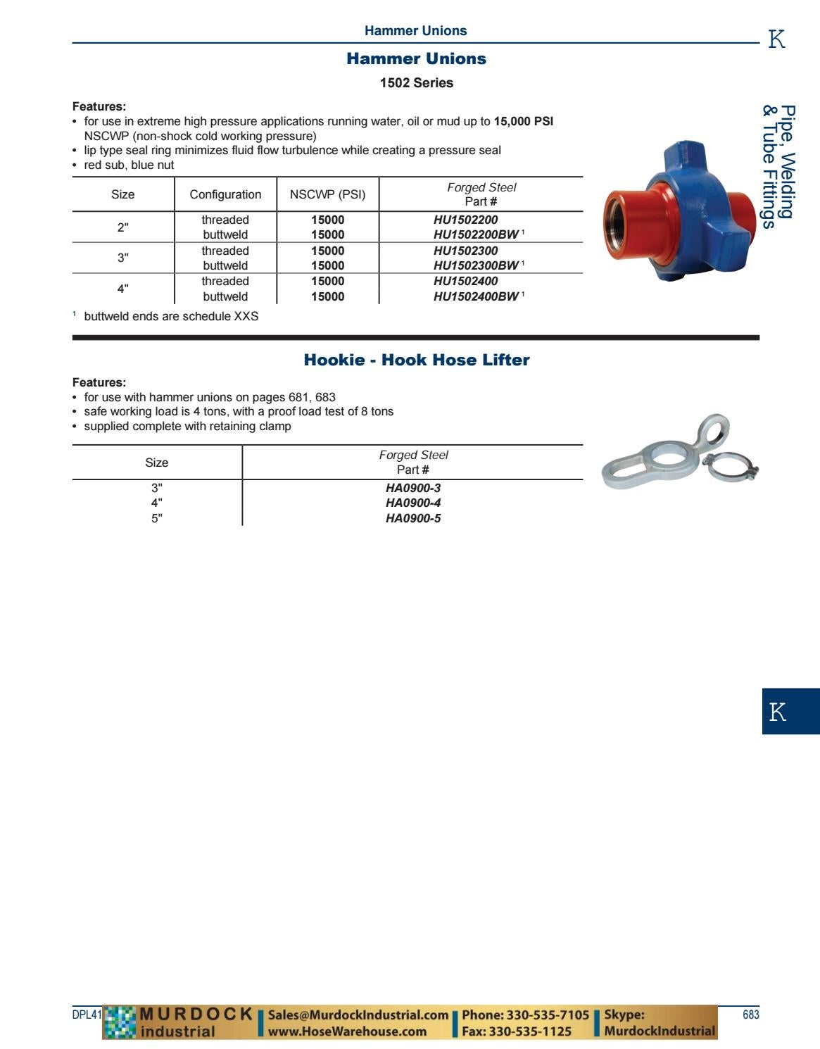 Dixon Valve and Coupling Complete PDF Catalog DPL418 2018 by Murdock