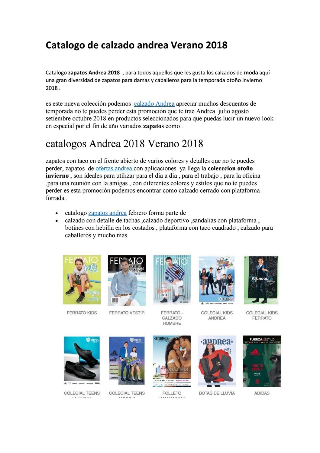 Catalogos Andrea 2018 By Catalogos Andrea Otoño Invierno 2020 Issuu