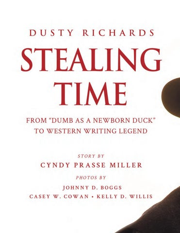 Page 124 of Stealing Time with Dusty Richards