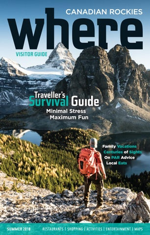 193a1d14d6 Where Canadian Rockies Summer 2018 by RMV Publications - issuu