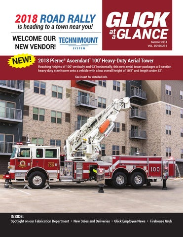 Glick Fire Equipment Winter 2018 Newsletter by Glick Fire Equipment
