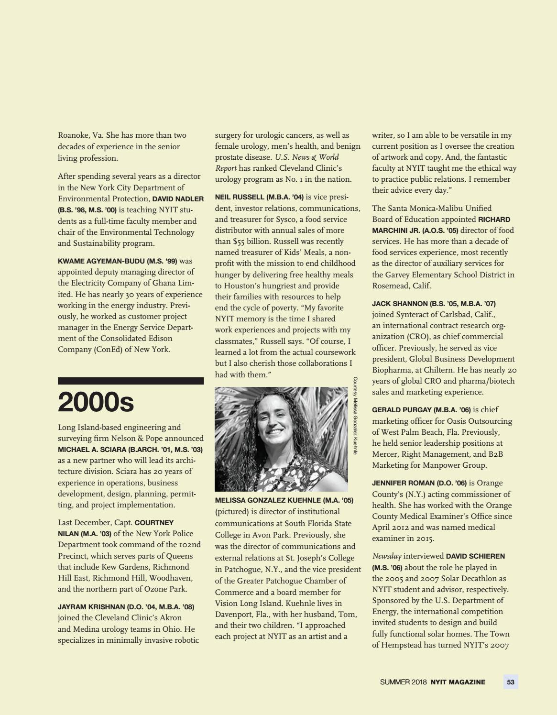 NYIT Magazine Summer 2018 by NYIT Magazine - issuu