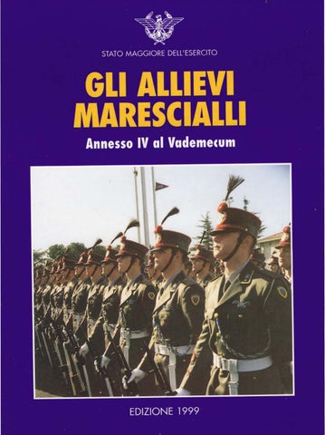 GLI ALLIEVI MARESCIALLI by Biblioteca Militare - issuu 4e8b96e4616b