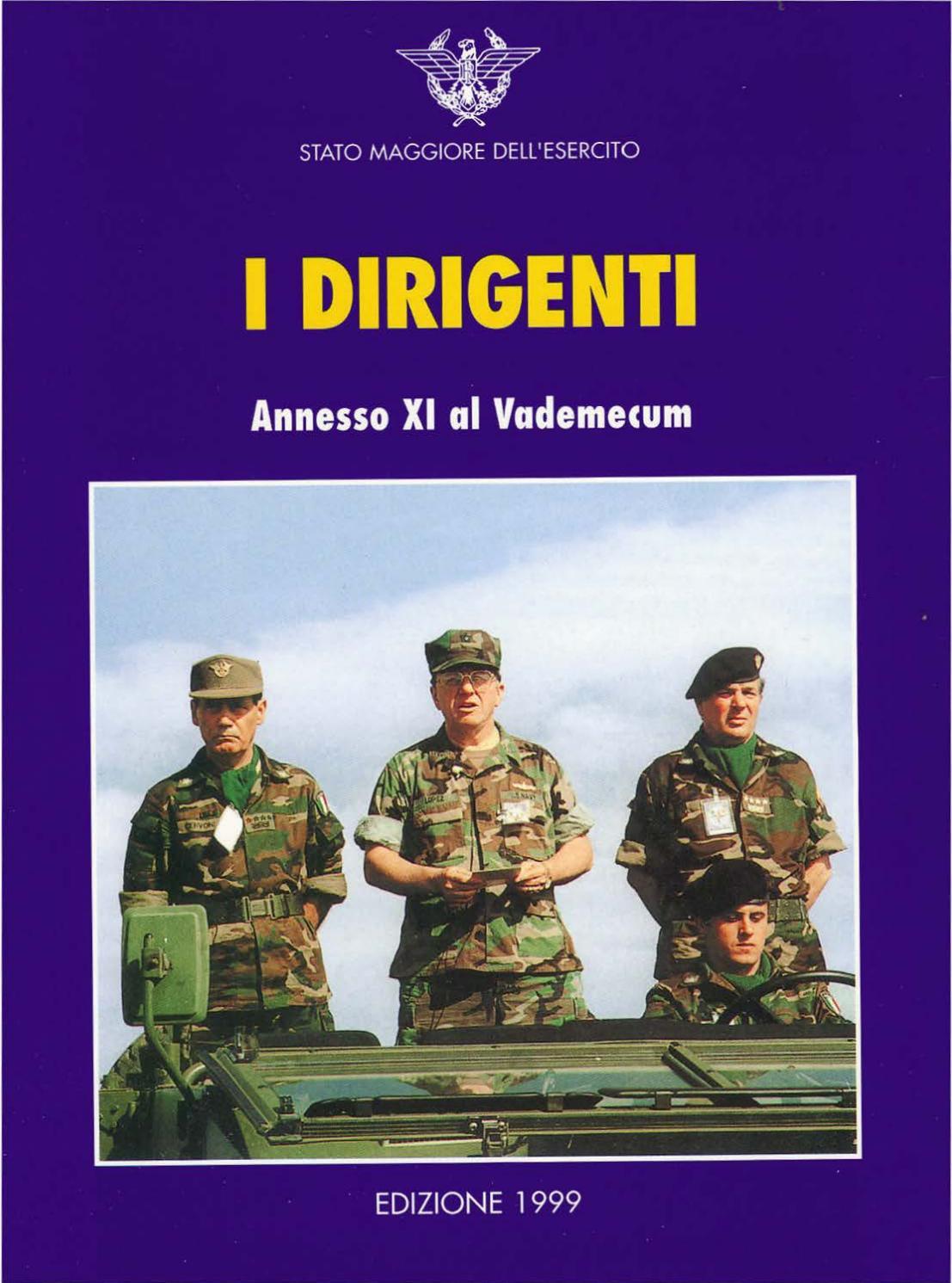 I DIRIGENTI by Biblioteca Militare - issuu b42caf470cc8