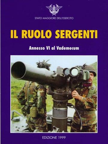 IL RUOLO SERGENTI by Biblioteca Militare - issuu 2c42f977365e