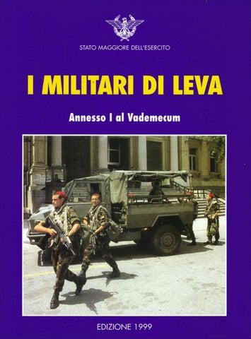 I MILITARI DI LEVA by Biblioteca Militare - issuu 485095ff28ff