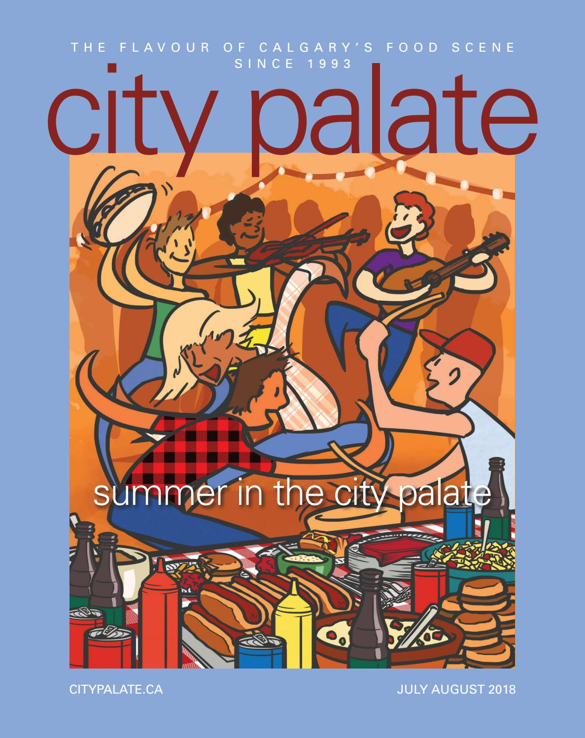 1a9a1c52d62 City Palate July August 2018 by City Palate - issuu