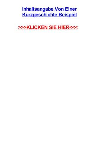 Kurzgeschichte textinterpretation Textanalyse und