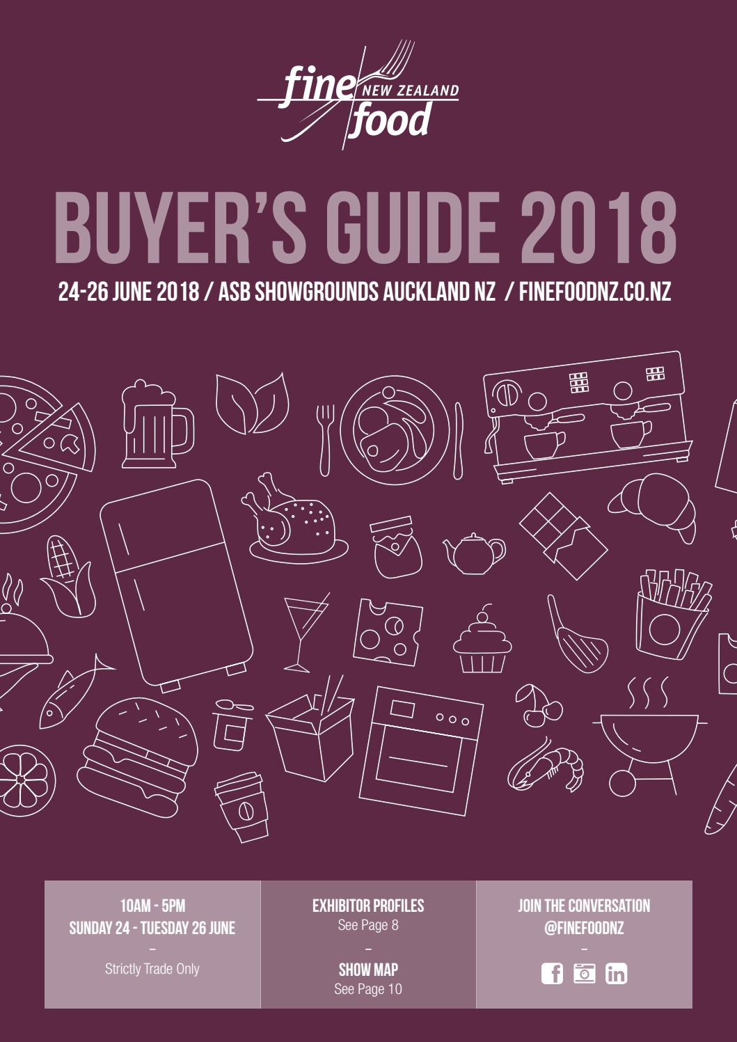 Finefoods Buyers Guide 2018 digimag by The Intermedia Group - issuu