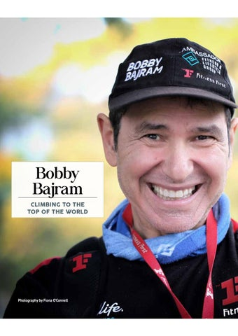 Page 10 of Bobby Bajram: Climbing to the Top of the World