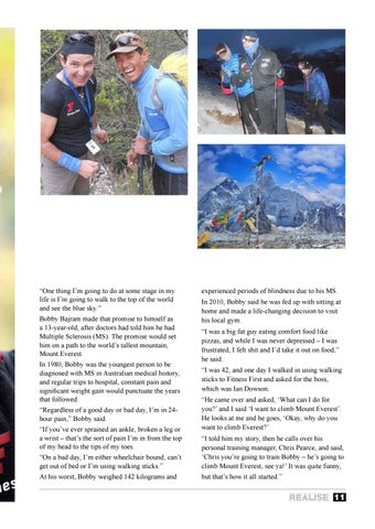 Page 11 of Bobby Bajram: Climbing to the Top of the World