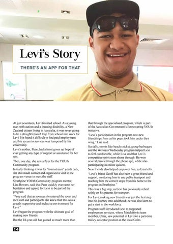 Page 14 of Levi's Story: There's An App For That