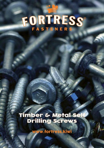 Fortress Self Drilling Screws Catalogue by Steel & Tube - issuu