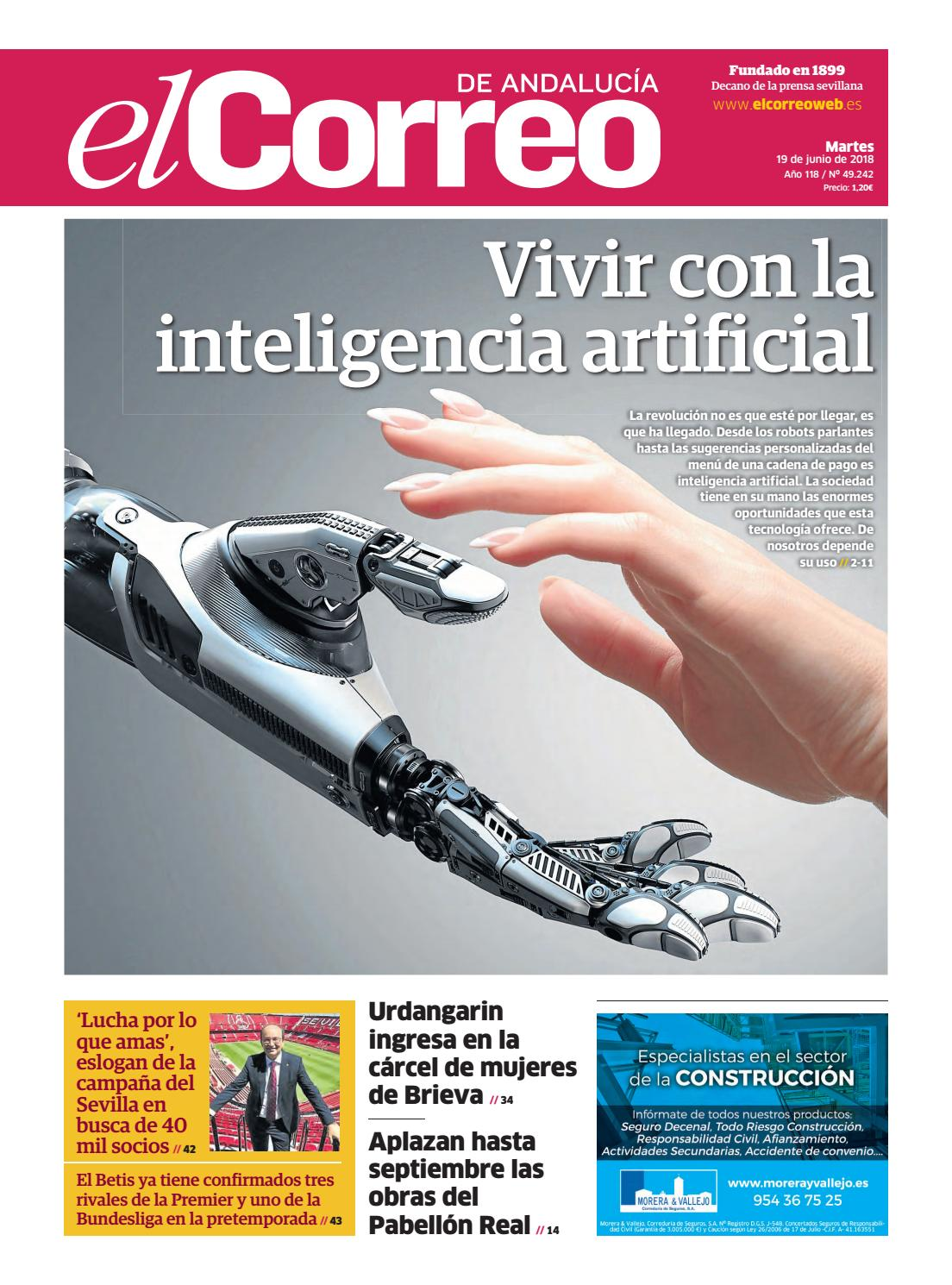19.06.2018 El Correo de Andalucía by EL CORREO DE ANDALUCÍA S.L. - issuu f6a6bfa44c38