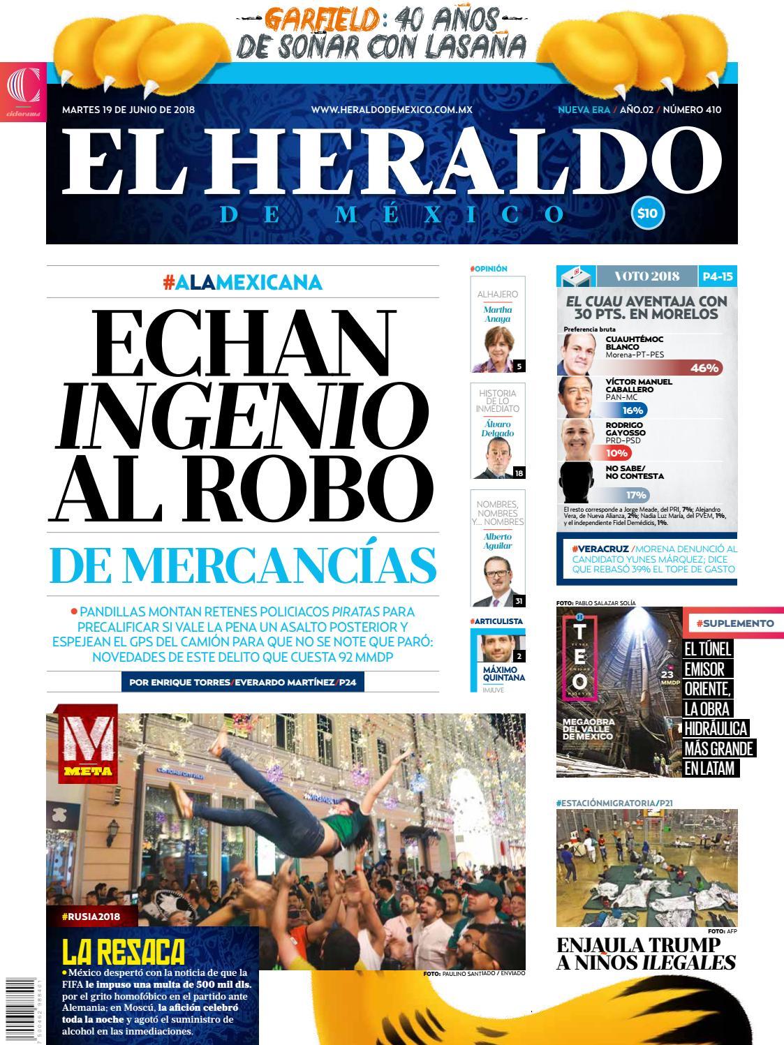 19 de junio 2018 by El Heraldo de México - issuu 06dc4213801d1
