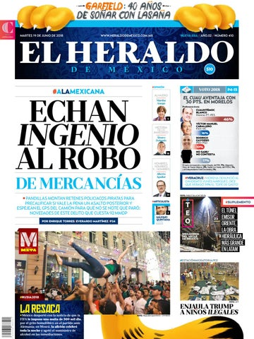 19 de junio 2018 by El Heraldo de México - issuu 642cb4ce49e