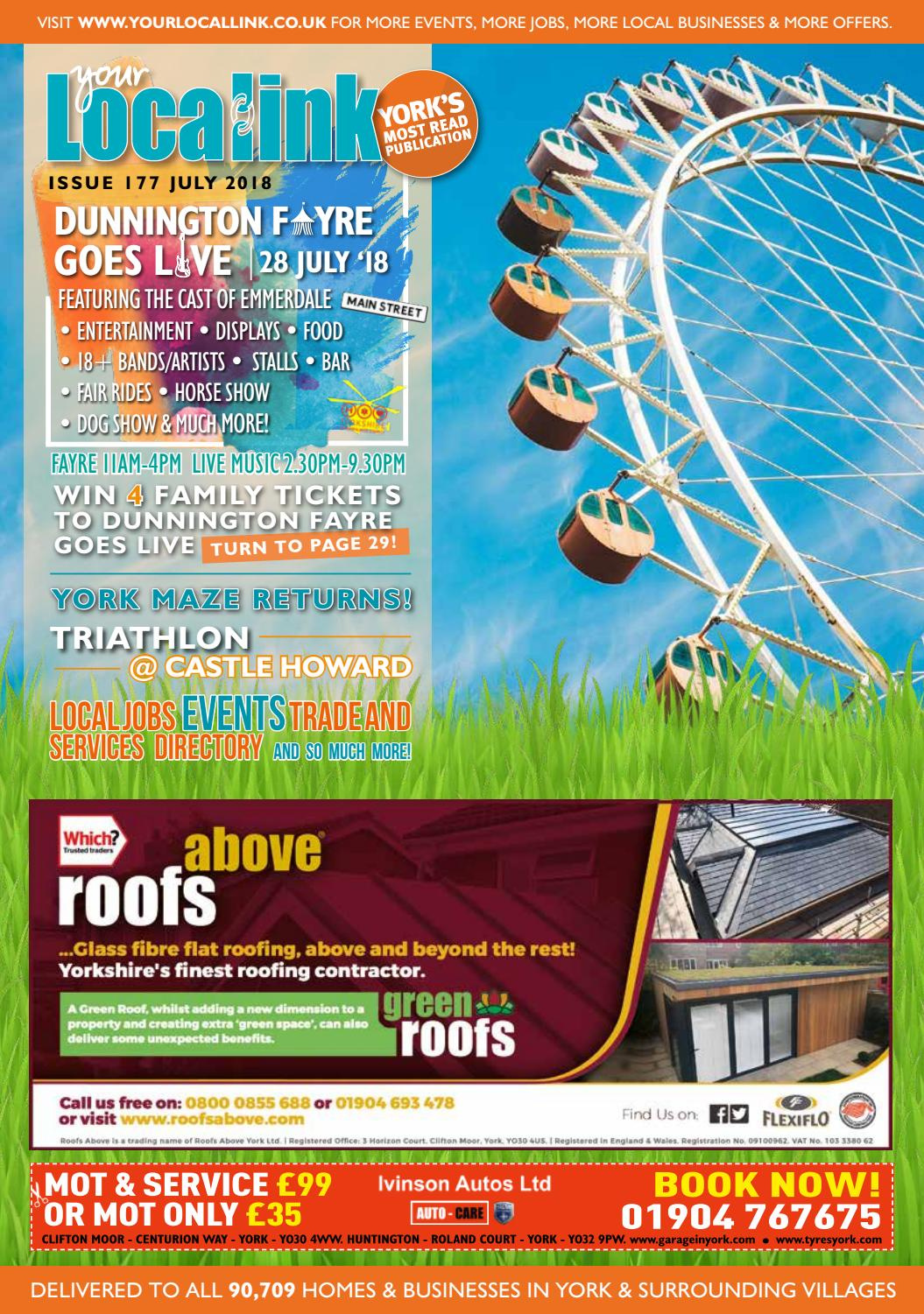 Your Local Link July 2018 by Your Local Link Ltd - issuu