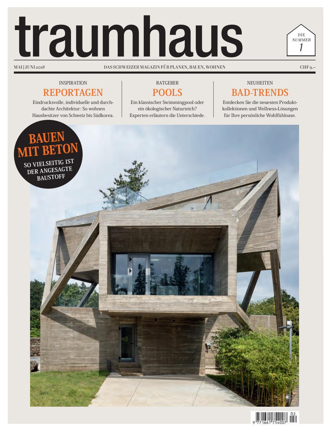 ultimative grune architektur bepflanzten wanden, traumhaus 02 2018 by bl verlag ag - issuu, Design ideen