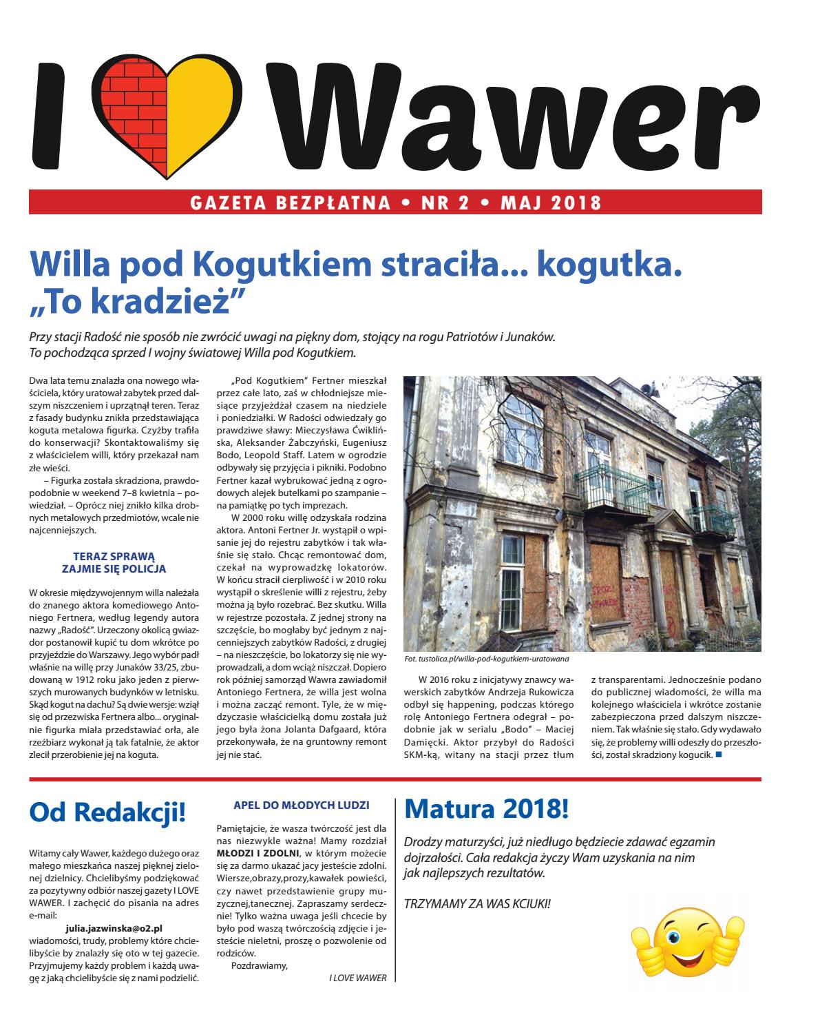 I Love Wawer Nr 2 By Iwog Time Issuu