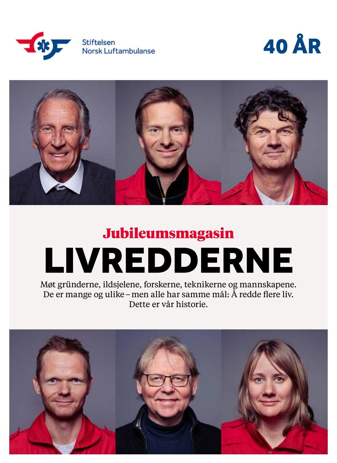 8eb63b1b Jubileumsnummer 0218 by Stiftelsen Norsk Luftambulanse - issuu
