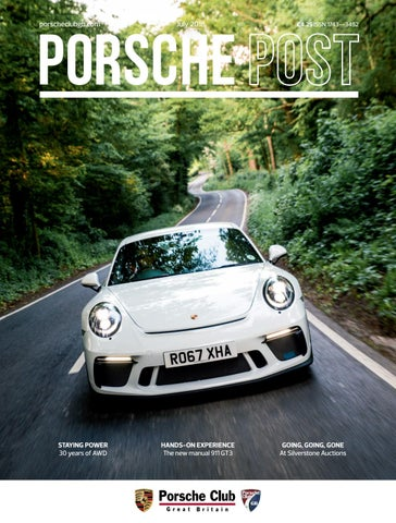 Porsche Post July 2018 By Porsche Club Great Britain Issuu