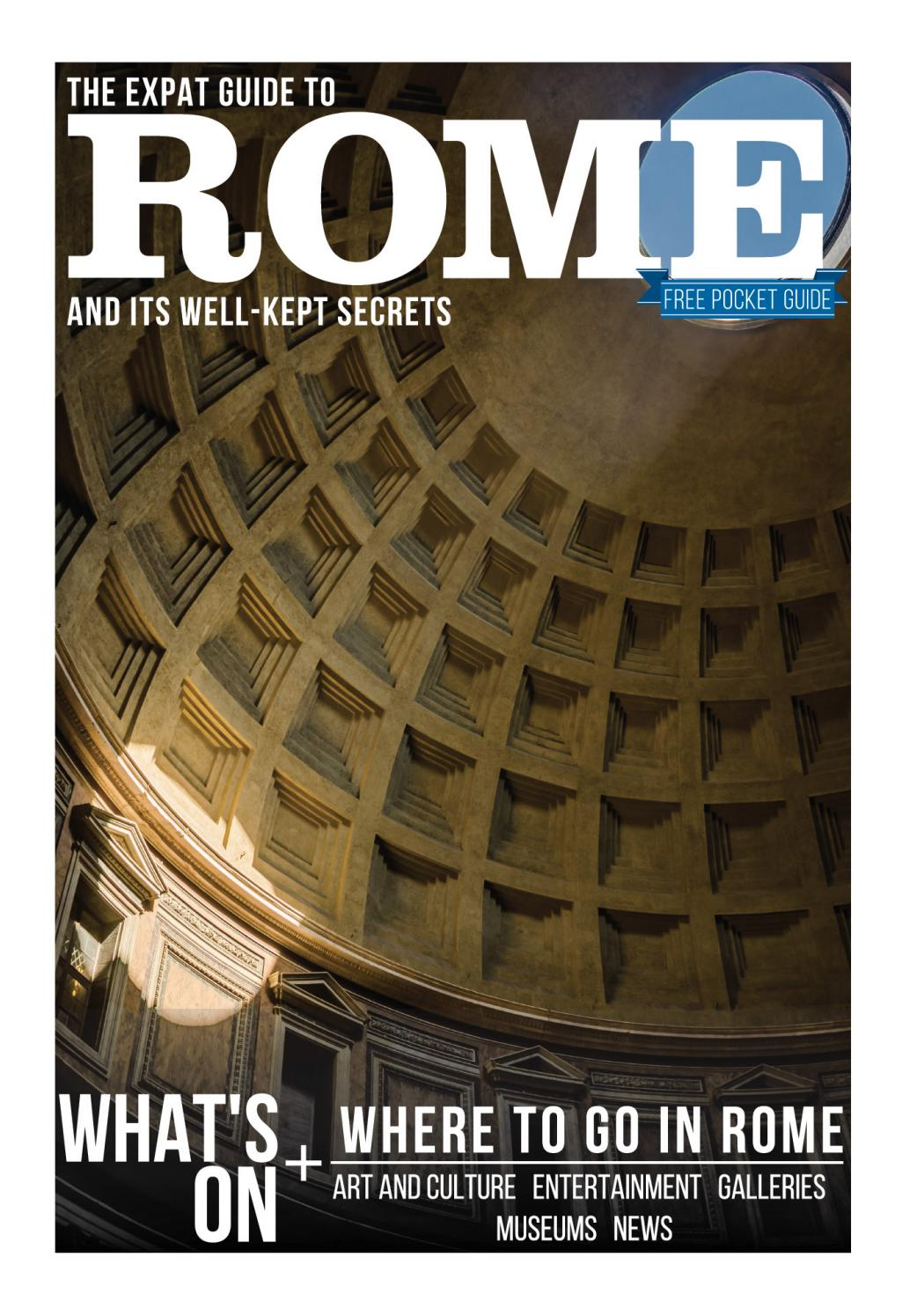 The Expat Guide to Rome 2018 by Wanted in Rome - issuu