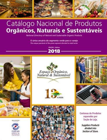 244682449 Catálogo Nacional de Produtos Orgânicos, Naturais e Sustentáveis ...