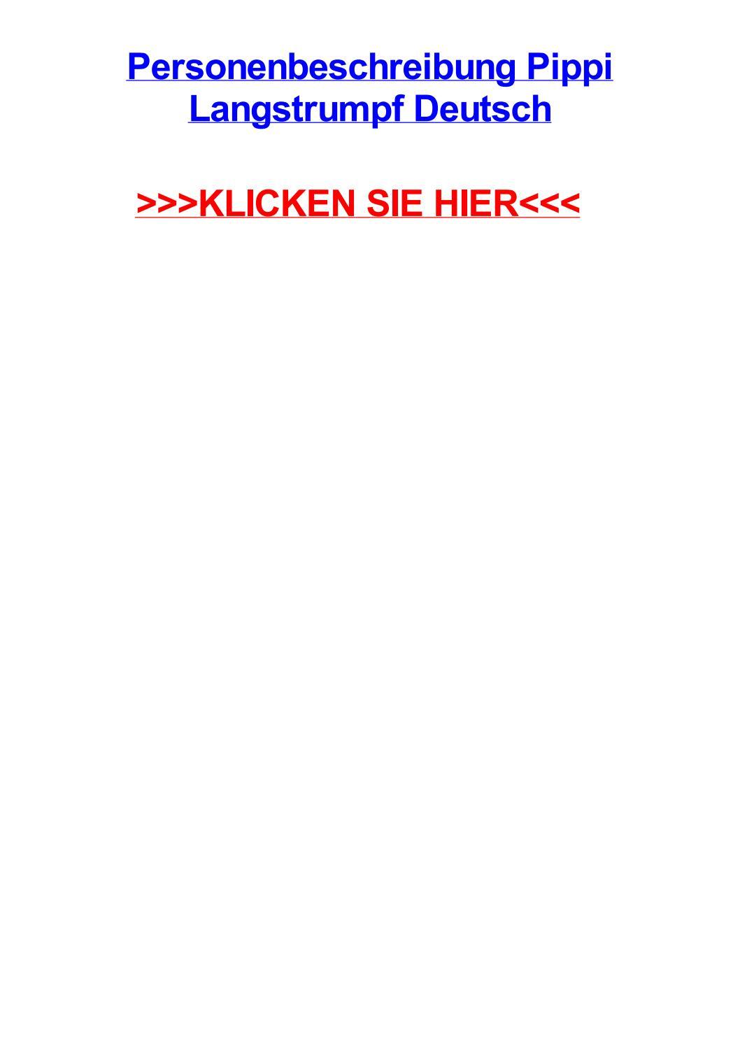 Pippi Langstrumpf Zeichentrick Deutsch