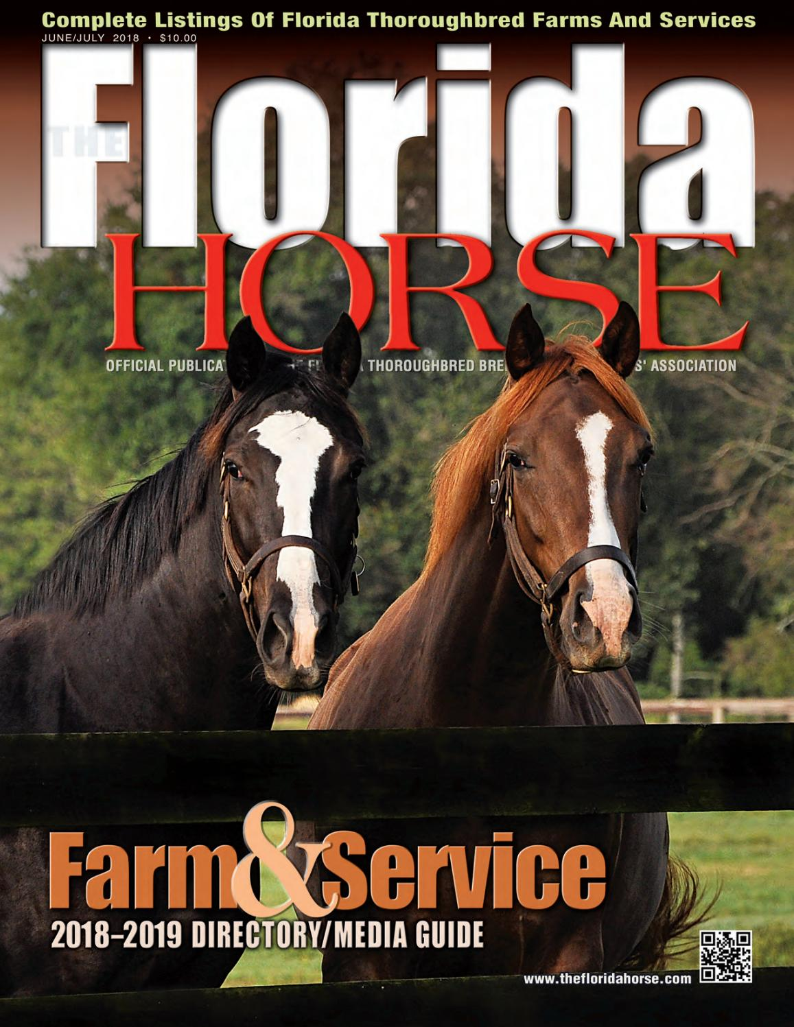 Florida Horse June July 2018 Directory by Florida Equine Publications -  issuu