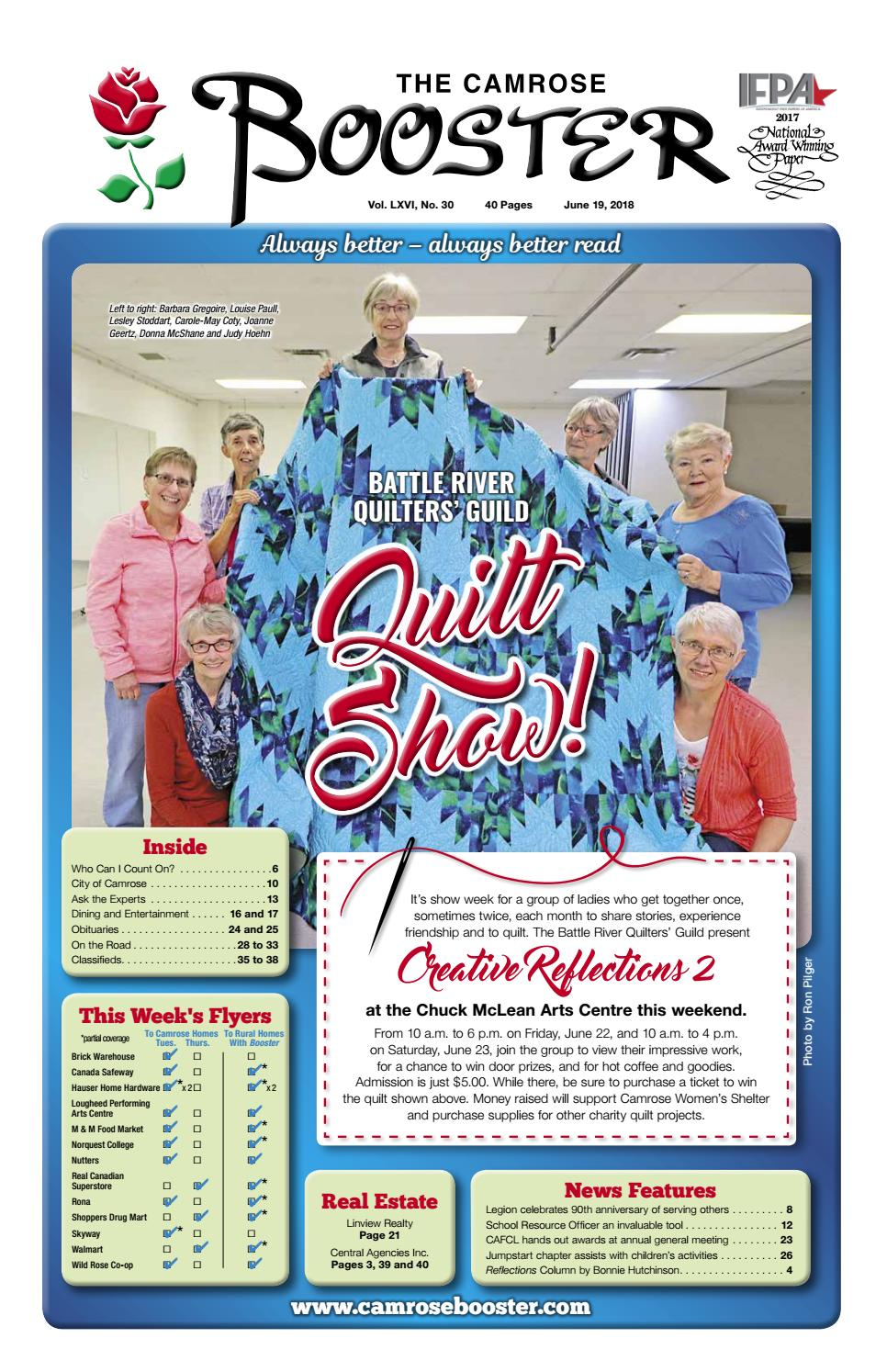 June 19 2018 Camrose Booster By The Camrose Booster Issuu