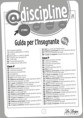 Discipline Guida Storia 4 5 By Eli Publishing Issuu