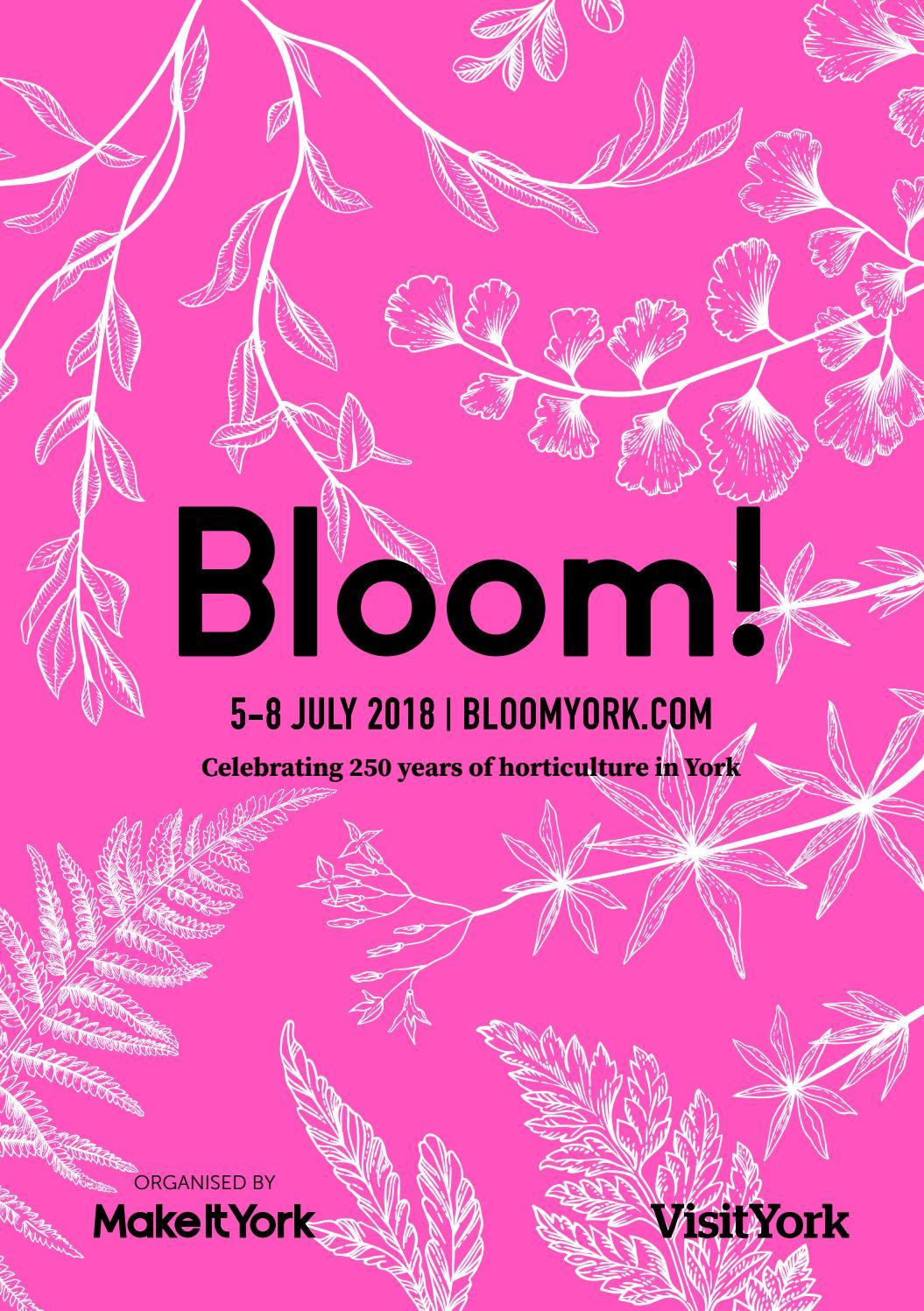 Bloom! York Festival Programme by Visit York - issuu
