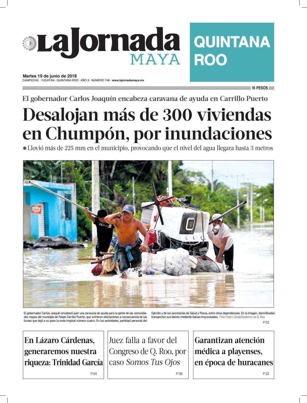 La jornada maya · martes 19 de junio de 2018 by La Jornada Maya - issuu f55530106a13f