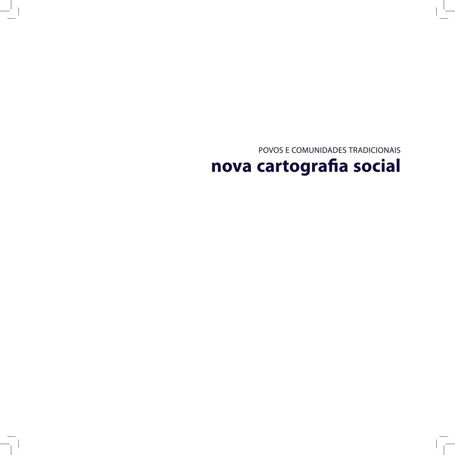 e1981b19b5 Cartografi social catalogo povos comunidades tradicionais 1 by matsu.cash -  issuu