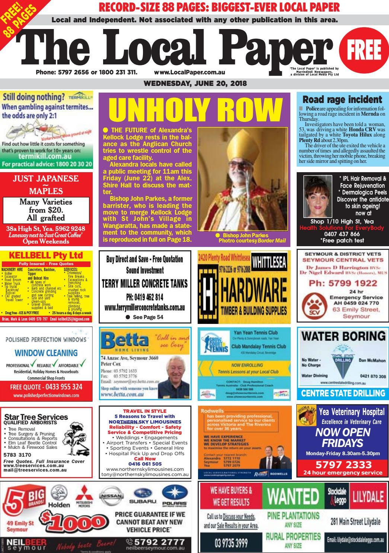 5e8b48721586 The Local Paper. June 20