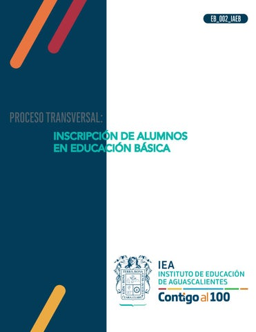 INSCRIPCIÓN DE ALUMNOS EN EDUCACIÓN BÁSICA by Gerardo Díaz - issuu