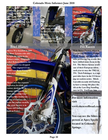 Page 20 of Full Factory Offroad riding school