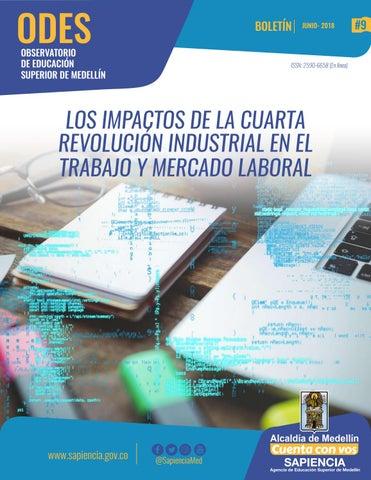 Boletín ODES - Los impactos de la cuarta revolución industrial en el ...