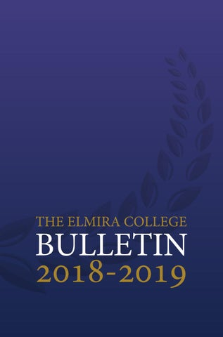 dafd9e2cef 2018-2019 Bulletin by Elmira College - issuu