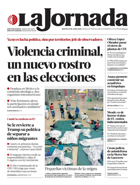 La Jornada 06 19 2018 By La Jornada Issuu