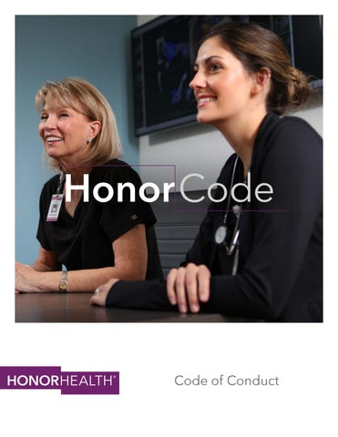 HonorHealth Code of Conduct by John C  Lincoln Health