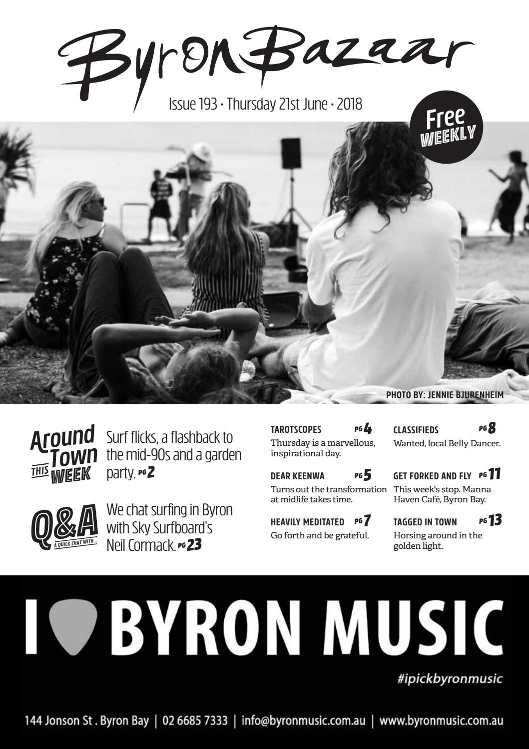 Thursday 21st June by Byron Bazaar - issuu