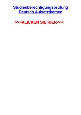 Deutsch aufsatz themen bwl 2005 10